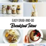breakfast recipe collage