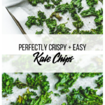 kale chips collage